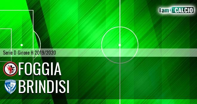 Foggia - Brindisi 1-0. Cronaca Diretta 16/02/2020
