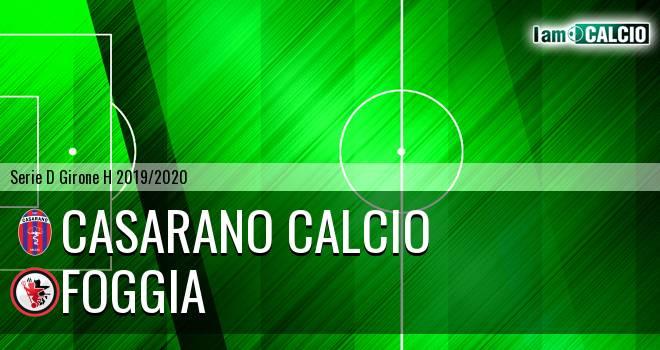 Casarano Calcio - Foggia