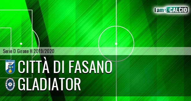 Citta' di Fasano - Gladiator