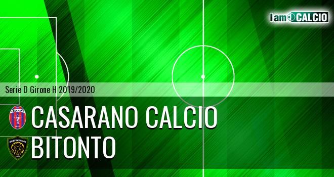 Casarano Calcio - Bitonto Calcio
