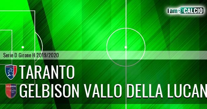 Taranto - Gelbison Vallo Della Lucania