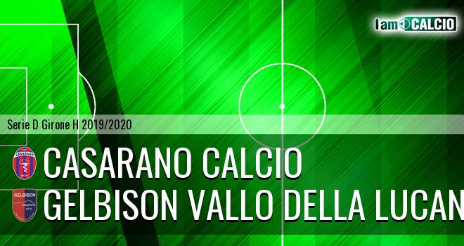 Casarano Calcio - Gelbison Vallo Della Lucania