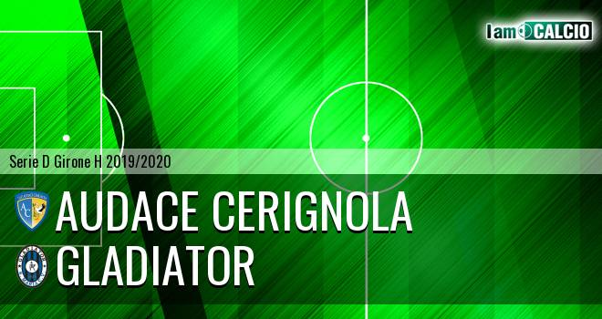 Audace Cerignola - Gladiator
