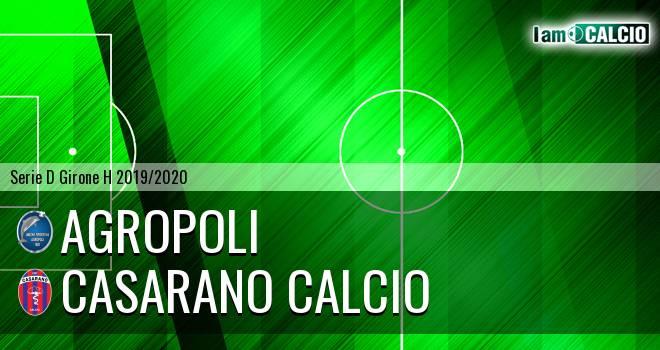 Agropoli - Casarano Calcio