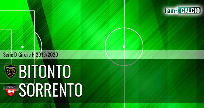 Bitonto Calcio - Sorrento 1945