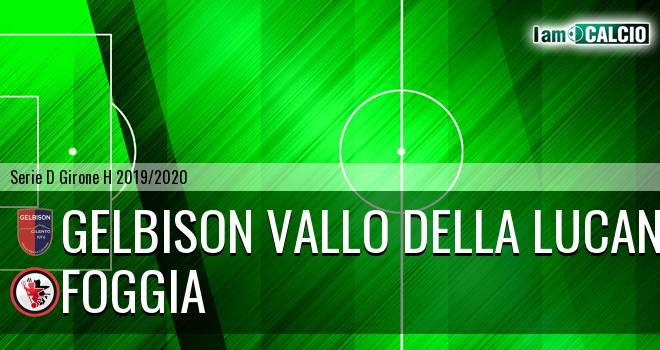 Gelbison Vallo Della Lucania - Foggia