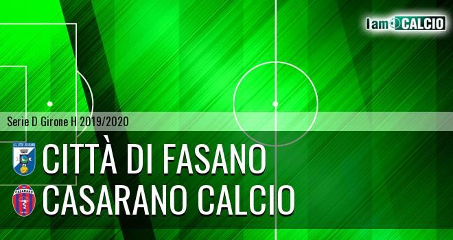 Città di Fasano - Casarano Calcio