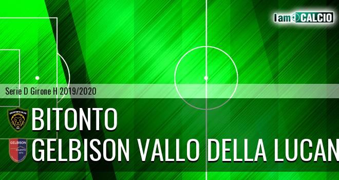 Bitonto Calcio - Gelbison Vallo Della Lucania