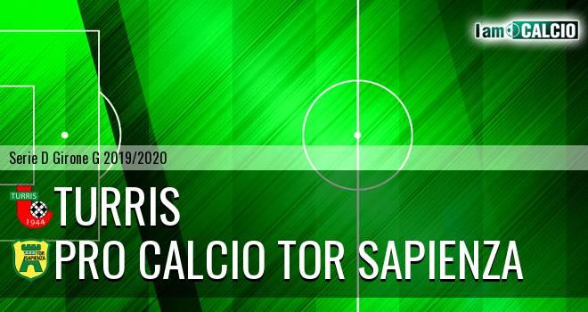 Turris - Pro Calcio Tor Sapienza