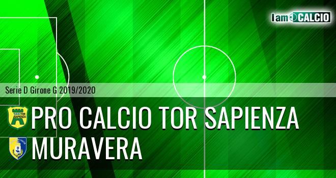 Pro Calcio Tor Sapienza - Muravera