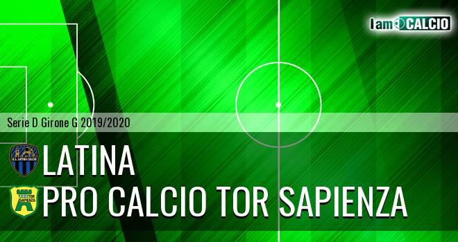 Latina - Pro Calcio Tor Sapienza