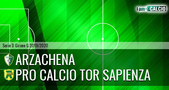Arzachena - Pro Calcio Tor Sapienza