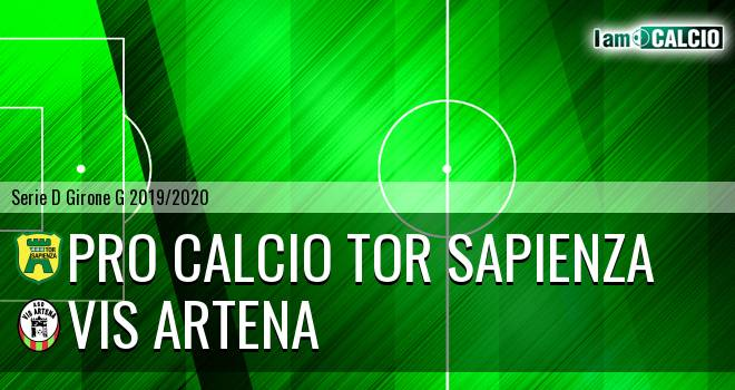 Pro Calcio Tor Sapienza - Vis Artena