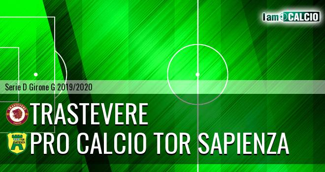 Trastevere - Pro Calcio Tor Sapienza