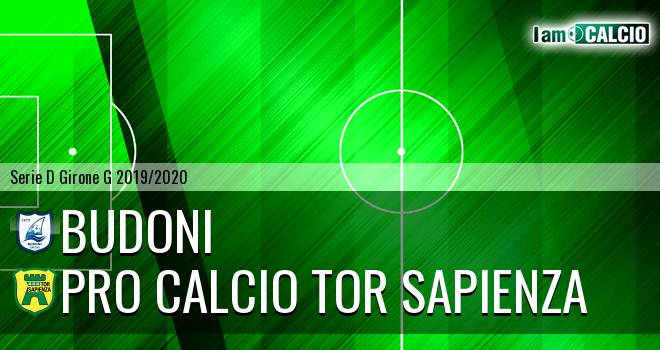 Budoni - Pro Calcio Tor Sapienza