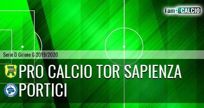 Pro Calcio Tor Sapienza - Portici