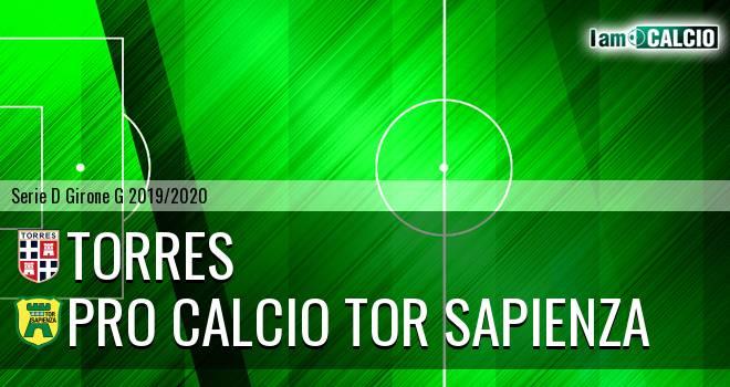 Torres - Pro Calcio Tor Sapienza