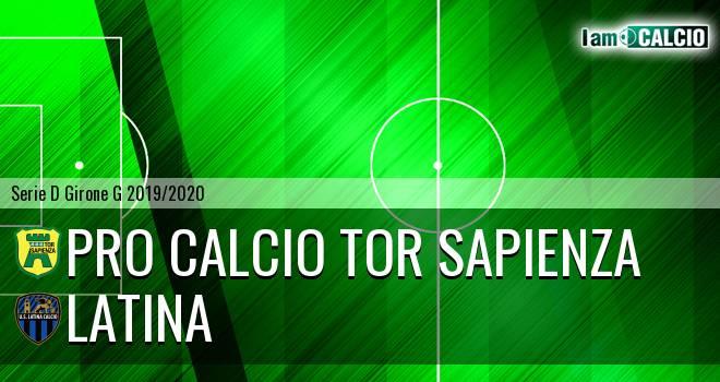 Pro Calcio Tor Sapienza - Latina