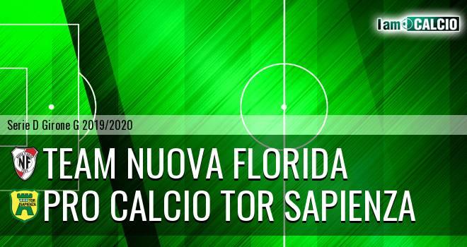 Team Nuova Florida - Pro Calcio Tor Sapienza