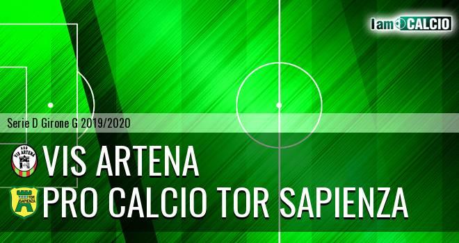 Vis Artena - Pro Calcio Tor Sapienza