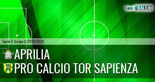 Aprilia - Pro Calcio Tor Sapienza