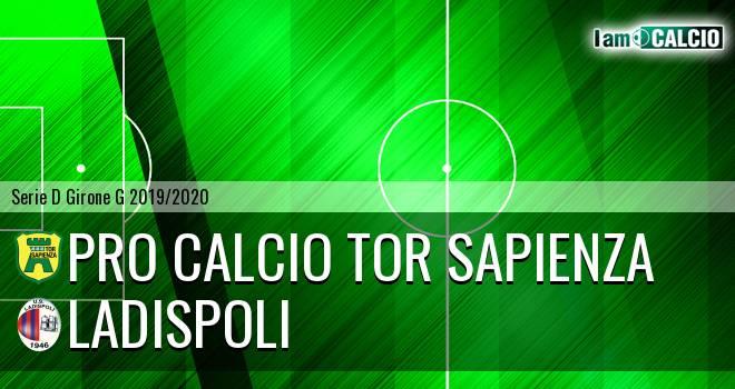 Pro Calcio Tor Sapienza - Ladispoli