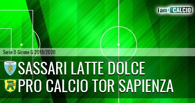 Sassari Latte Dolce - Pro Calcio Tor Sapienza