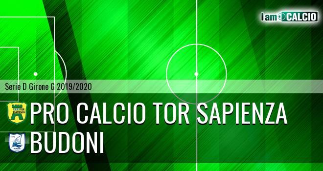 Pro Calcio Tor Sapienza - Budoni
