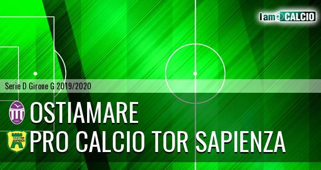 Ostiamare - Pro Calcio Tor Sapienza