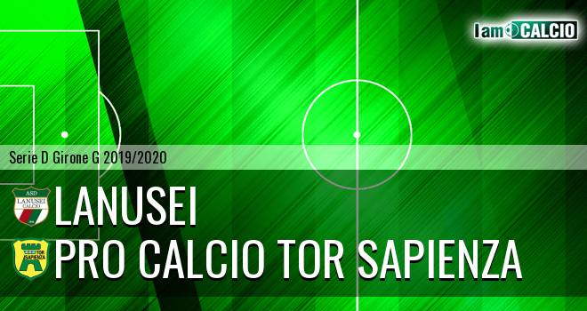 Lanusei - Pro Calcio Tor Sapienza