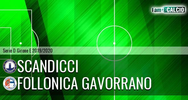 Scandicci - Follonica Gavorrano