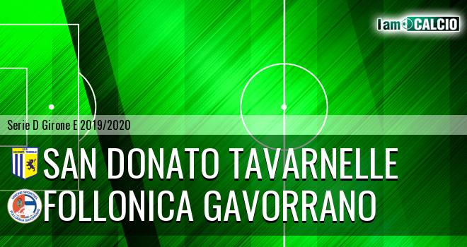 San Donato Tavarnelle - Follonica Gavorrano