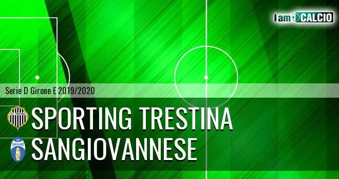Sporting Trestina - Sangiovannese