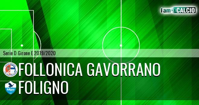 Follonica Gavorrano - Foligno