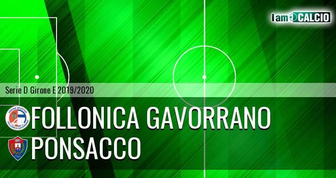 Follonica Gavorrano - Ponsacco