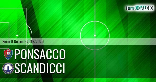 Ponsacco - Scandicci
