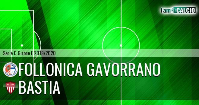 Follonica Gavorrano - Bastia