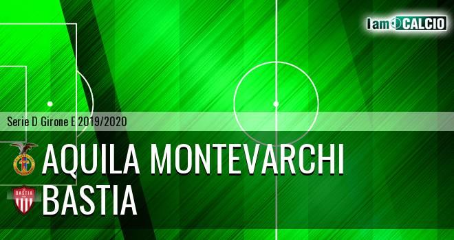 Aquila Montevarchi - Bastia