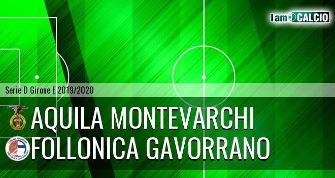 Aquila Montevarchi - Follonica Gavorrano