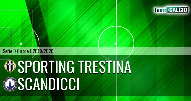 Sporting Trestina - Scandicci