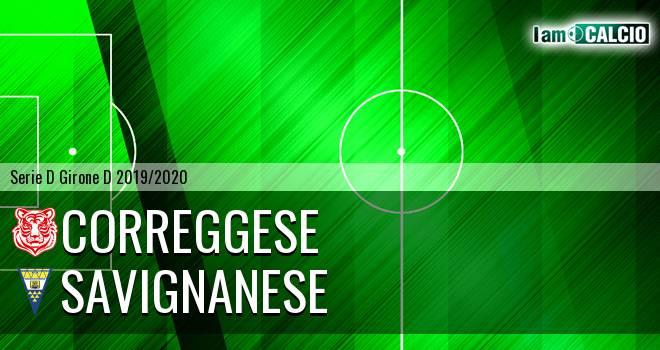 Correggese - Savignanese