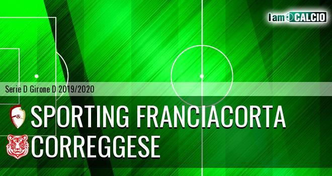 Sporting Franciacorta - Correggese