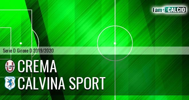 Crema - Calvina Sport
