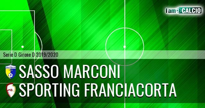 Sasso Marconi - Sporting Franciacorta
