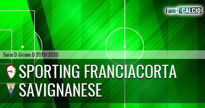 Sporting Franciacorta - Savignanese