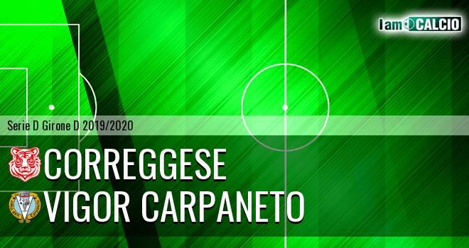 Correggese - Vigor Carpaneto