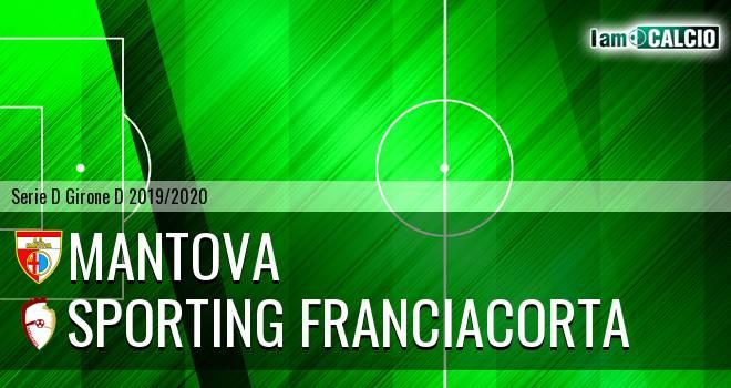 Mantova - Sporting Franciacorta