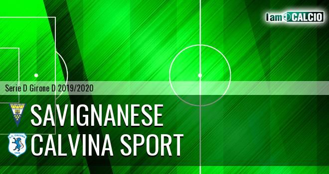 Savignanese - Calvina Sport
