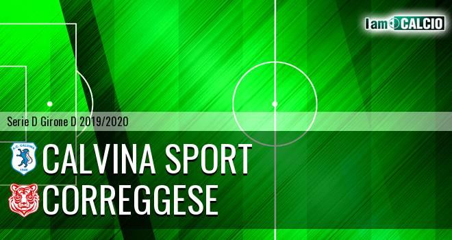 Calvina Sport - Correggese