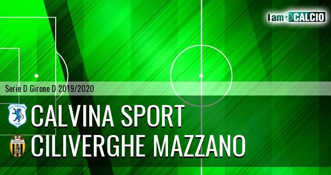 Calvina Sport - Ciliverghe Mazzano